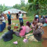The Water Project: Masuveni Community, Masuveni Spring -  Toothbrushing Demonstrations