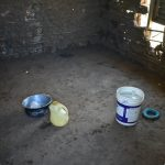The Water Project: Eshimuli Primary School -  Water Storage Inside Kitchen