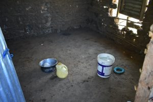 The Water Project:  Water Storage Inside Kitchen