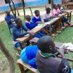 The Water Project: Banja Primary School -  Handwashing Practice