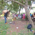 The Water Project: Sambaka Community, Sambaka Spring -  Handwashing Session