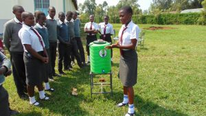The Water Project:  Now A Student Leads Handwashing