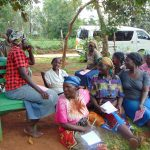 The Water Project: Masuveni Community, Masuveni Spring -  Listening To A Participants Response