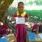 The Water Project: Nanganda Primary School -  Student Lydia Elected Health Club Treasurer