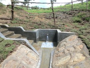 The Water Project:  Water Gushes From Sambaka Spring
