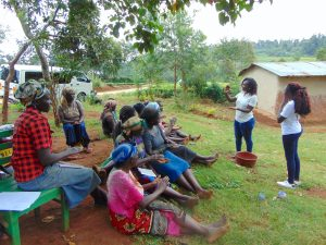 The Water Project:  Handwashing Session Led By Trainer Laura Alulu