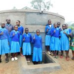 The Water Project: Shichinji Primary School -  Thumbs Up For Clean Water