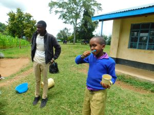 The Water Project:  Student Volunteers To Demonstrate Toothbrushing