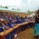 The Water Project: Demesi Primary School -  Discussing Latrine Hygiene
