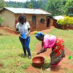 The Water Project: Masuveni Community, Masuveni Spring -  Handwashing Demonstration