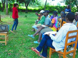 The Water Project:  Facilitator In Action