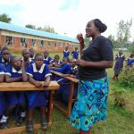 The Water Project: Demesi Primary School -  Toothbrushing Demonstration