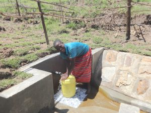 The Water Project:  All Smiles Fetching Water