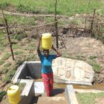 The Water Project: Sambaka Community, Sambaka Spring -  Headinghome With Clean Water