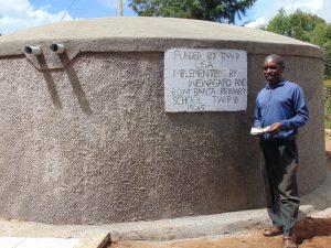 The Water Project:  Senior Teacher Mr Jumba