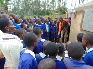 The Water Project:  Learning About The Rain Tank