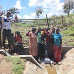 The Water Project: Sambaka Community, Sambaka Spring -  Community Celebrates The Spring