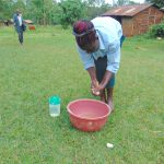 The Water Project: Munenga Community, Francis Were Spring -  Handwashing