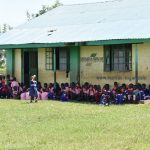 The Water Project: Eshimuli Primary School -  Students Take A Break In The Shade