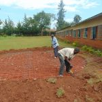 The Water Project: Demesi Primary School -  Rain Tank Foundation Work