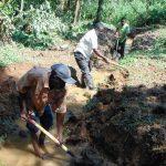 The Water Project: Bumira Community, Madegwa Spring -  Excavation