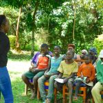 The Water Project: Bumira Community, Madegwa Spring -  Happy Participants