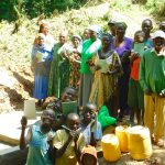 The Water Project: Bumira Community, Madegwa Spring -  Smiling Participants At End Of Training