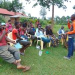 The Water Project: Munenga Community, Francis Were Spring -  Toothbrushing Demonstration