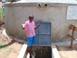 The Water Project:  Happy Day At The Rain Tank