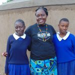 The Water Project: Demesi Primary School -  Facilitator Karen Maruti With Students