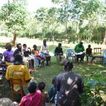The Water Project: Emulembo Community, Gideon Spring -  Trainer Lynnah In Action