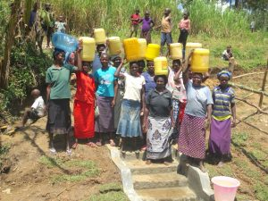 The Water Project:  Women With Clean Water Ready To Head Home
