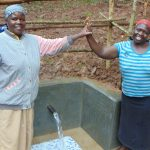 The Water Project: Bumira Community, Madegwa Spring -  All Smiles At The Completed Spring