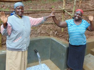The Water Project:  All Smiles At The Completed Spring
