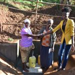 The Water Project: Emulembo Community, Gideon Spring -  Handing Over Session At Gideon Spring