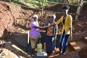 The Water Project:  Handing Over Session At Gideon Spring