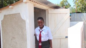 The Water Project:  Standing Proud With New Latrines