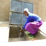 The Water Project: Kapkures Primary School -  Happy Day With Clean Water Flowing