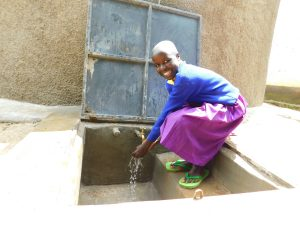 The Water Project:  Happy Day With Clean Water Flowing