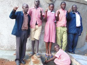 The Water Project:  Students And Staff Give Thumbs Up For Clean Water