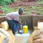 The Water Project: Munenga Community, Francis Were Spring -  Happy Day