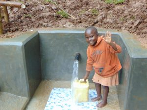 The Water Project:  Easy Filling Up At The Spring