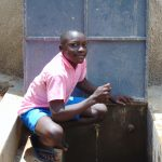 The Water Project: Banja Primary School -  Smiles At The Rain Tank