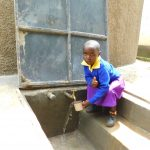 The Water Project: Kapkures Primary School -  Getting A Fresh Drink