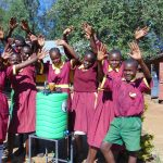 The Water Project: Nanganda Primary School -  Celebrating Clean Hands
