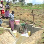 The Water Project: Sambaka Community, Sambaka Spring -  All Ages Appreciate Clean Water