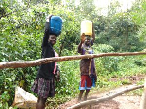 The Water Project:  Happy To Be Heading Home With Clean Water