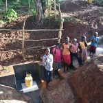 The Water Project: Emulembo Community, Gideon Spring -  Children Give Thumbs Up At The Spring