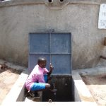 The Water Project: Banja Primary School -  Thumbs Up For Clean Water
