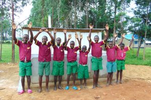 The Water Project:  Hands Up For New Latrines